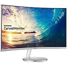 """Samsung LC27F591FDU 27"""" Full HD VA Plata - Monitor (1920 x 1080 Pixeles, LCD, Full HD, VA, 3000:1, 16,78 millones de colores)"""