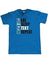 Vectorbomb, Keep Bees Texte Répéter, Hommes Drôles, Technologie T Shirt (Du S au 5XL)