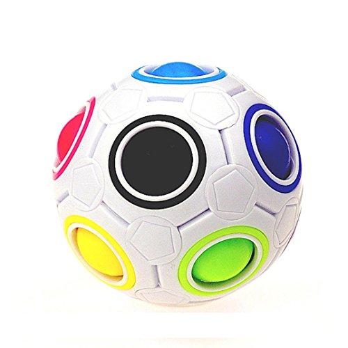 Preisvergleich Produktbild Holeider Stressabbau Magic Rainbow Ball Puzzle Cube Magie Regenbogen Ball Puzzle Würfel Spielzeug