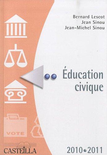 Education civique 2010-2011