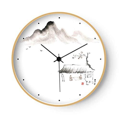 6f0916943a56f0 Orologio da Parete Muto da 8 Pollici Orologio da Salotto per Soggiorno Orologio  da Donna retrò