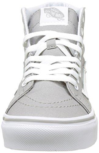 Vans Damen UA Sk8-Hi Slim Hohe Sneakers Grau (Drizzle/true White)