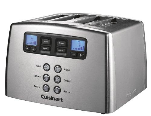Cuisinart CPT440E Motorisierter 4-Schlitz-Toaster