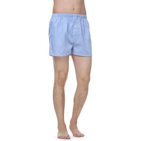 Janeo Men's Boxer Shorts -  Boxer  - A righe - Uomo