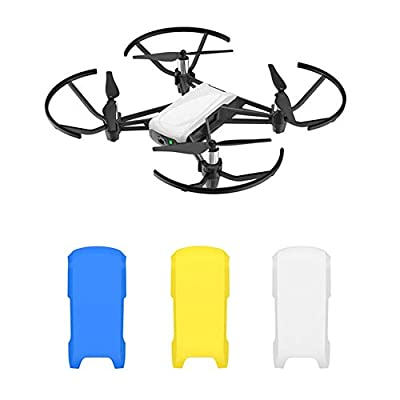 Kismaple Tello Snap-On Top Cover, Drone Body Top Case Cap Replacement Part Accessories for DJI Tello