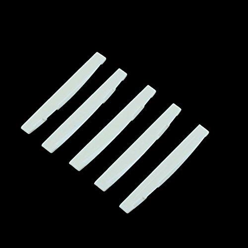 Imagen de toogoo r puente sillin de plastico 5 piezas para  acustica alternativa