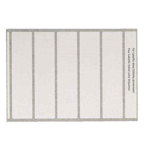 Leitz 66520001 Beschriftungsetikett OCplus, Laser- und Tintenstrahldrucker, 500 Stück, weiss (Hohe Bogen-schienen)