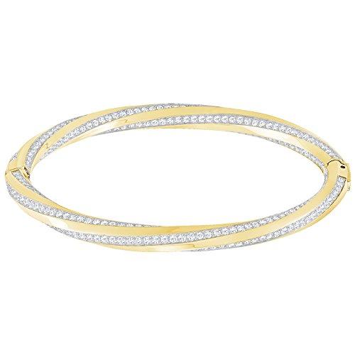Swarovski Damen-Armreifen Vergoldet 5350170