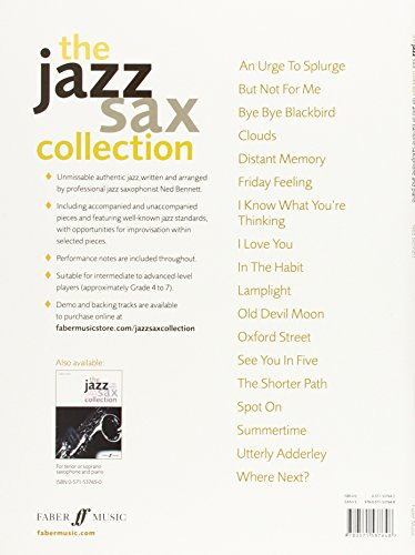 The Jazz Sax Collection (Alto or Baritone Saxophone) (Faber Edition: Jazz Sax Collection)
