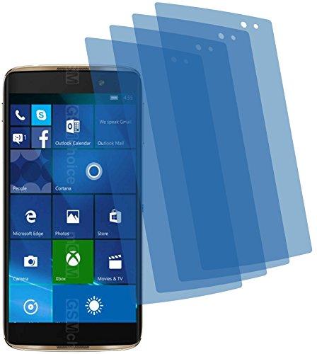4X ANTIREFLEX matt Schutzfolie für Alcatel Idol 4 Pro Premium Bildschirmschutzfolie Displayschutzfolie Schutzhülle Bildschirmschutz Bildschirmfolie Folie