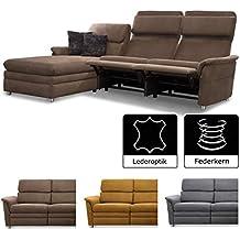Suchergebnis Auf Amazon De Fur Leder Sofa Mit Relaxfunktion