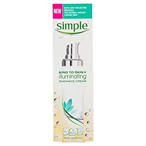 Simple Kind to Skin+ Illuminating Radiance Cream, 50ml