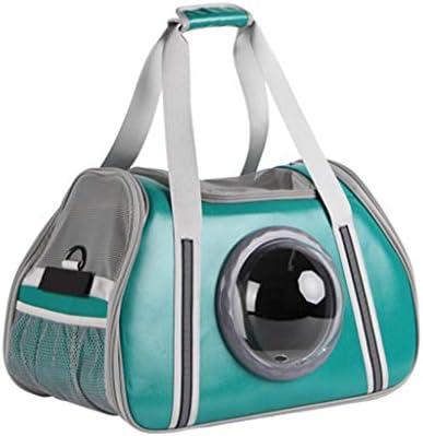 Pet Pet Pet Zaino Leggero e Traspirante Capsula Spaziale Bubble Pet Carrier Impermeabile Viaggi Portatile Premium Shoulder Carry Bag (36cmX26cmX48cm) (Coloreee   verde) | Di Nuovi Prodotti 2019  | Prezzo ottimale  | Moderno Ed Elegante A Moda  | Consegna veloc 36aa55