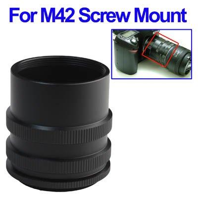 Anello di prolunga per M42 a vite 42 millimetri Montaggio telecamera - Tubo Extender Kit
