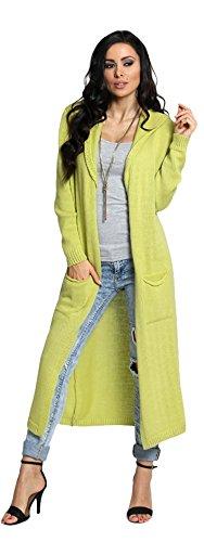 Lsecret  - Gilet - Femme Taille unique Citron Vert