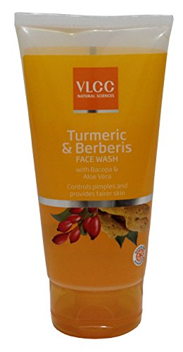 VLCC Turmeric & Berberis Face Wash 150 ml Single  available at amazon for Rs.125
