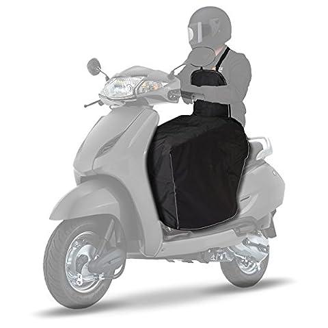 Couvre-jambes pour Scooter Tourtecs Peugeot City Star 125/200/50, Geopolis 125/250/300/400/500,
