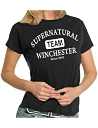 Team Winchester LADIES T-Shirt XS - XXL div. Farben
