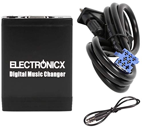 Electronicx Elec-M06-SMT Digitaler Musikadapter USB SD AUX Smart, Lancia Fiat 8 Pin, Autoradio, stereo audio cd wechsler 2003 Auto-stereo-installation