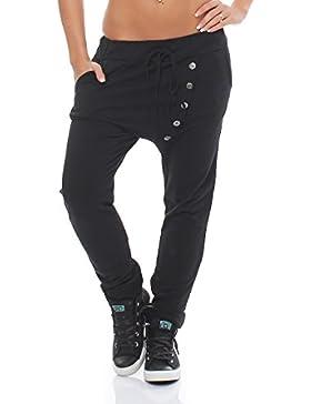 ZARMEXX pantalones de las mujeres ocasionales del harem de los pantalones deportivos pantalones de algodón de...