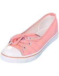 Minetom Mujer Chicas Moda Lona Zapatos Punta Redonda Tacón Plano Espadrilles Ocio Zapatos