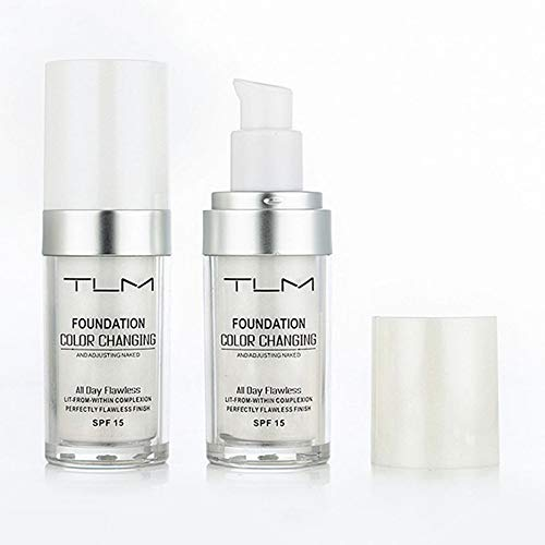 GailMontan Flawless Farbwechsel Warmer Hautton Foundation Makeu Liquid Concealer - Weiß -