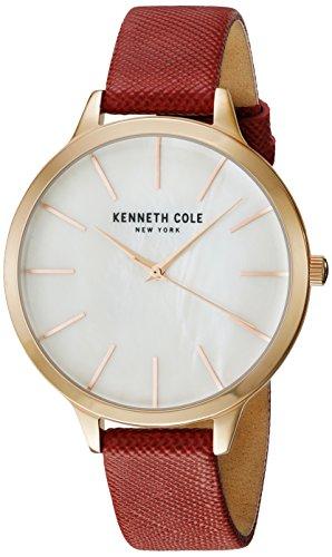 Kenneth Cole New York Orologio da donna orologio da polso in pelle kc15056004