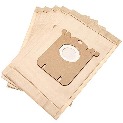 vhbw 5 Staubsaugerbeutel passend für Migros MigrosTurmix HN 4000 Staubsauger, Papier 25.75cm x 16.2cm