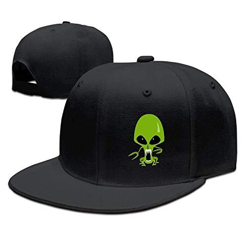 Alien Cl PlaFlat Baseball Hats Hip Hop Snapback Hats Dad Hat High ()
