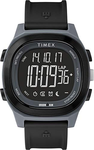 Timex Orologio Digitale Uomo con Cinturino in Resina TW5M19000