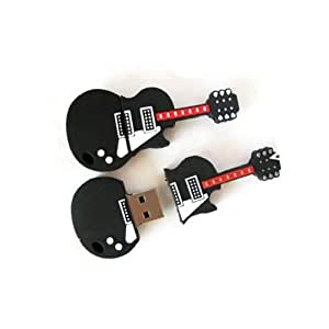 16gb novelty cool guitar style usb flash pen drive memory stick gift uk pc. Black Bedroom Furniture Sets. Home Design Ideas