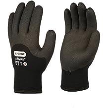 Skytec guantes sky08-l Argon guantes, tamaño: L, Negro (Pack de 2)