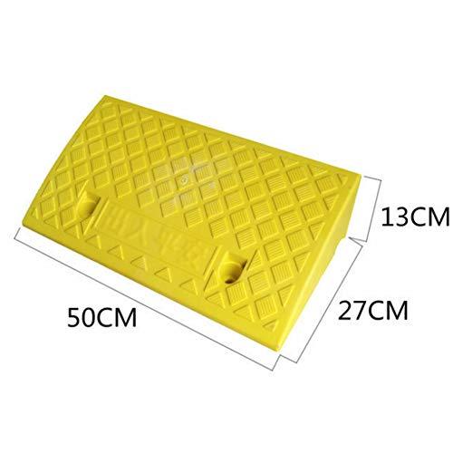 HFJKD Pad in Salita Home Convenience Store Pad Pendenza Facile da trasportare Dispositivo in Salita per l'ingresso delle Strade Scolastiche ECC, 50 * 13 * 27 cm,