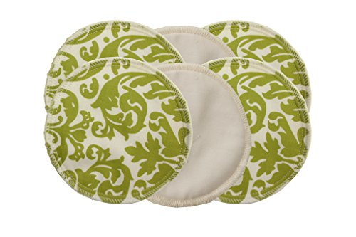 itzy-ritzy-glitzy-gals-washable-nursing-pads-avocado-damask-pack-of-6