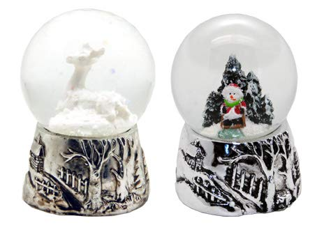 ead9b98954e MINIUM-Collection 2 – 42 – 95 2 Süße Mini Bolas de Nieve con Plata