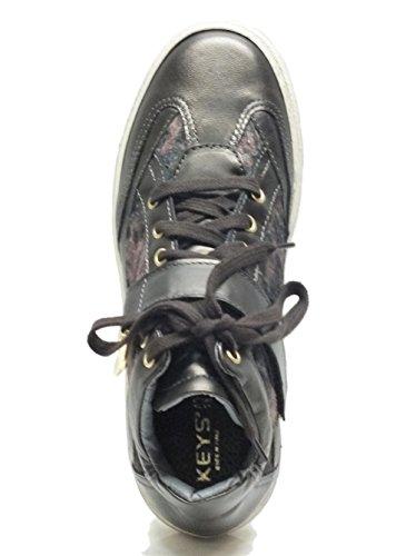 Sneakers Keys per donna in pelle bronzo Bronzo
