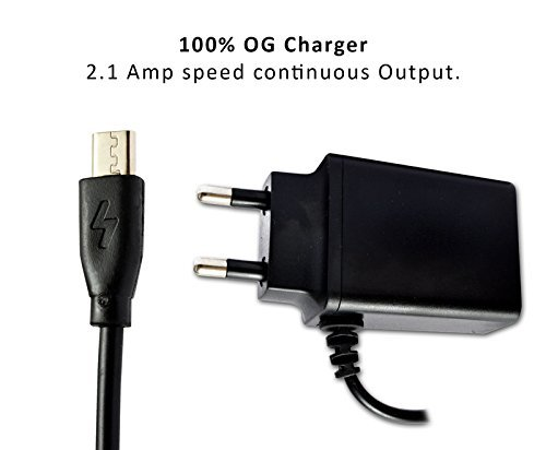 ECell Premium 2.1 Amp High Speed OG Charger compatible For Samsung Champ Neo  - black  available at amazon for Rs.295