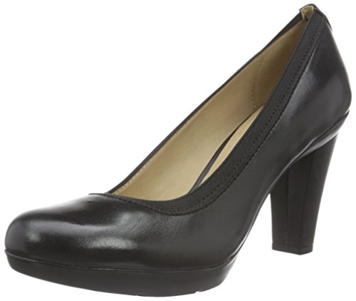 Geox Damen D Inspiration A Pumps, Schwarz (BLACKC9999), 39 EU