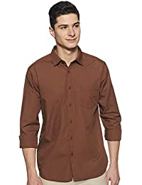 Amazon Brand - Symbol Men's Casual Regular Fit Shirt