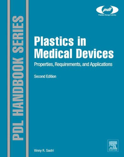 Plastics in Medical Devices: Properties, Requirements, and Applications (Plastics Design Library) (English Edition) -