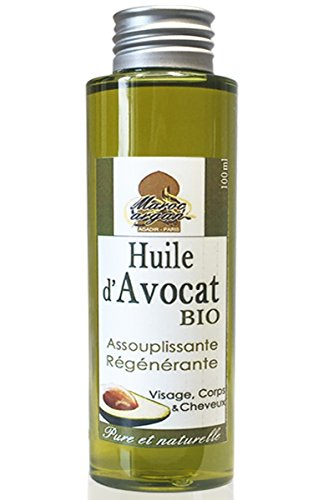 Aceite de Aguacate Bio y Natural–Piel y Cabello–100ml