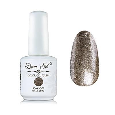 Beau Gel Soak off Gel Nail Polish UV LED Manicure Gift Set 6pcs Colour Varnish 15ml Nail Art Manicure