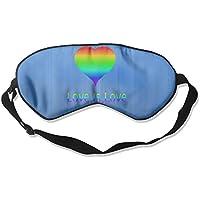 Love Is Love LGBT 99% Eyeshade Blinders Sleeping Eye Patch Eye Mask Blindfold For Travel Insomnia Meditation preisvergleich bei billige-tabletten.eu