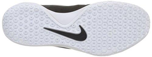 Nike Hyperchase Tb, Chaussures de Sport-Basketball Homme, Noir/Blanc Noir / argenté / blanc (noir / argenté métallique - blanc)