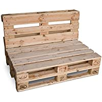 CLC ARREDO Divanetto pallet richiudibile Made In Italy - Colore Neutro Naturale