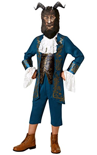 Beast - Schönheit und das Biest - Disney - Kinder Kostüm - Medium - 116cm - Alter 5-6 (Disney Das Biest Kostüme)