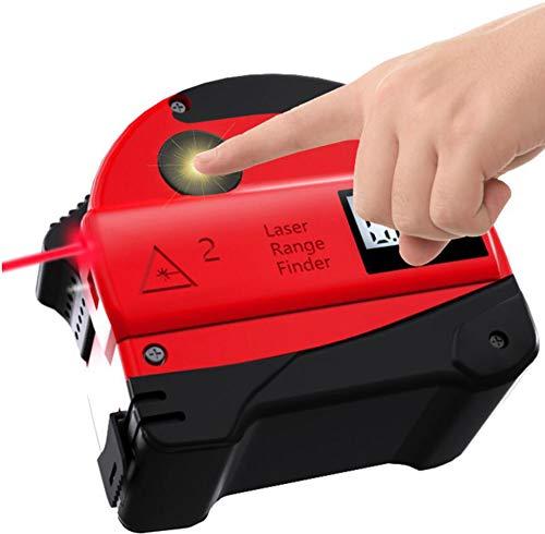 Electronic Distance Measuring Tool (Laserbandmessung, Laser-und Bandmessung, für genaue Messungen bis zu 30 Meter,A)