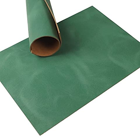 Cowhide Leather Green Soft Pull Up 2.5 mm Thick A3 77