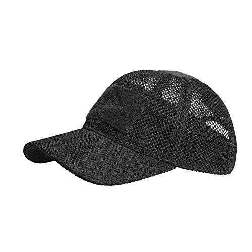41afKWWThkL. SS500  - Helikon-Tex BBC MESH CAP - Polyester Black