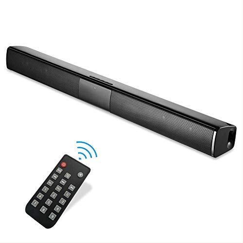 Soundbar Bluetooth 20W TV con Cable e inalámbrico